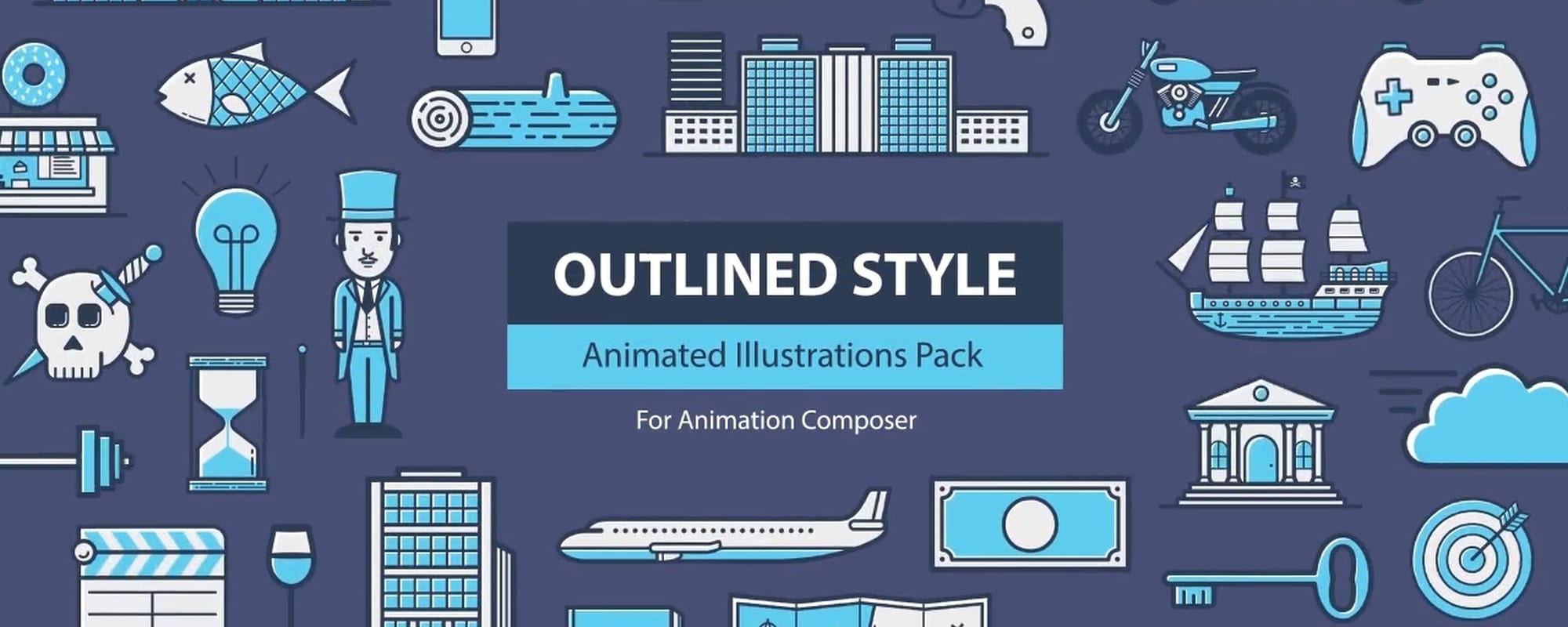 animated textures bundle for animation composer フラッシュバック