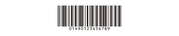 バーコードrobo5 作成できるバーコードサンプル 全26種類