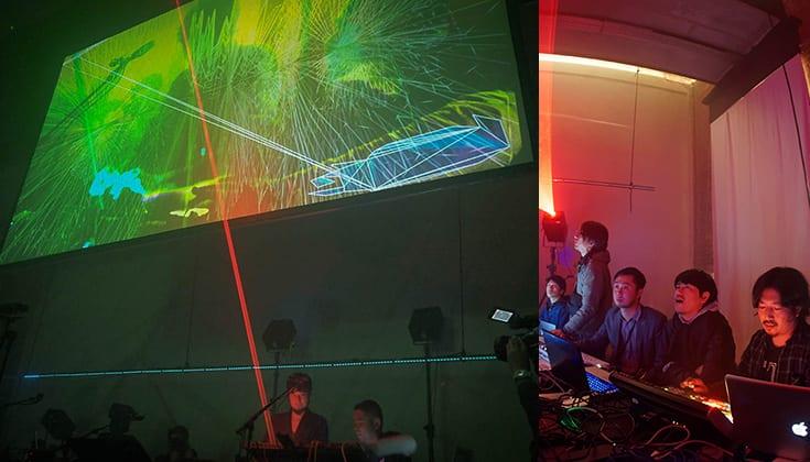 【創造のシナプス】GROUNDRIDDIM × C (VJチーム) / MONS TOKYO WEEK・HIFANA 編
